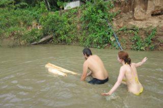 Radeau, Amazonie, aventure, jungle, Pérou, Puerto Maldonado