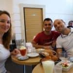Petit déjeuner typique, Sicile, Italie