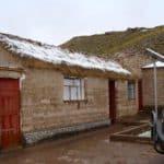 Maison Andes Bolivie Neige