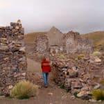 Ruine village fantôme Andes Bolivie