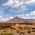 Volcan, désert, Uyuni, Bolivie