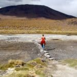 Pierres sur le bord de la Laguna Colorada, Bolivie