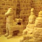 sculptures lama de sel, Salar d'Uyuni, Bolivie