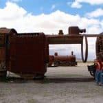 Cimetière des trains, Uyuni, Bolivie