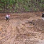 Kuelap, Bolivie, boue