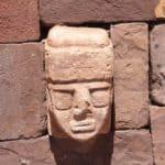 Tiwanaku, temple semi-souterrain, Bolivie