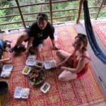Manger typique khmer au Cambodge