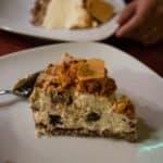 Irlande du Nord, cheesecake