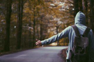 backpacker, voyageur