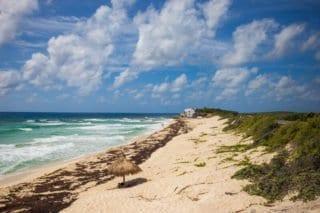 Cozumel, Mexique, Yucatan, plage