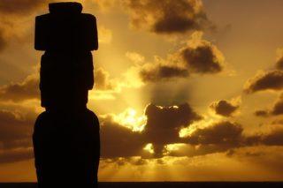 ile de pâques, archeologie, moaïs