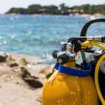 Corse, Ajaccio, plongée