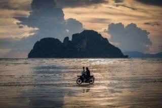 voyage, Thaïlande, plage, ile