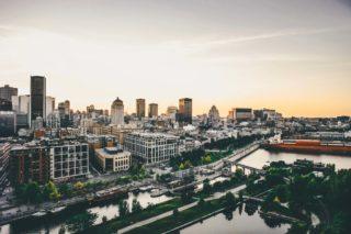 Montreal, Canada, Québec, Voyage