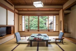 Japon, ryokan Hoshi, Houshi