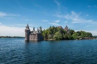 Cananoque, Ontario, Canada, Amérique du Nord, roadtrip, milles îles, Boldt, castle, chateau