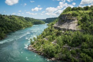 Niagara, chutes, rivière, Ontario, Canada, Amérique du Nord, roadtrip, voyage, famille, nature, Niagara Whirlpool, Whirlpool Aero Car
