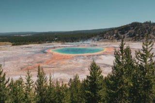 Yellowstone, Grands Parcs, parc national, réserve, nature, USA, Amérique, américain, animaux, roadtrip, visiter, voyage, conseils, Grand Prismatic Spring,